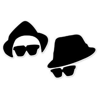 "Blues Brothers car bumper sticker decal 6"" x 4"" Automotive"