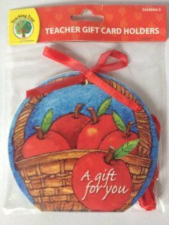 Gift Card Holders for Teachers ~ Teacher Appreciation Week Gift Idea Health & Personal Care