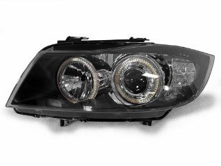 DEPO 09 11 BMW E90/E91 LCI UHP LED ANGEL XENON HID HEADLIGHT + LED SIGNAL CORNER Automotive