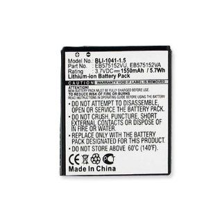 Samsung SGH I917 (Focus) Cell Phone Battery (Li Ion 3.7V 1550mAh) Rechargable Battery   Replacement For Samsung GALAXY S Cellphone Battery Cell Phones & Accessories