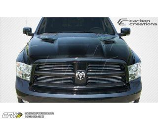 2009 2013 Dodge Ram 1500 Carbon Creations MP R Hood   1 Piece Automotive
