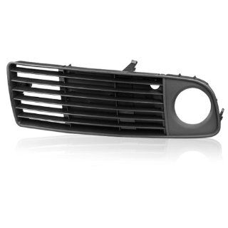 One Piece Of Left Driver Side Perfect Replacement Front Lower Fog Light Grille Insert Bumper for 1998 1999 2000 Audi A6 C5 Avant Quattro Automotive