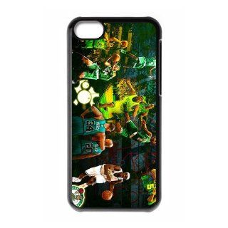 Custom Boston Celtics Cover Case for iPhone 5C W5C 319 Cell Phones & Accessories