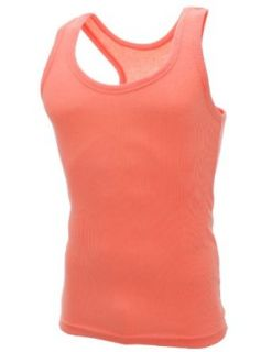 FLATSEVEN Mens Plain Tank Top Shirts (TT100) Orange at  Men�s Clothing store Tank Top And Cami Shirts