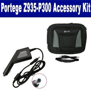 Toshiba Portege Z935 P300 Laptop Accessory Kit includes SDA 3558 Car Adapter, SDC 32 Case Computers & Accessories