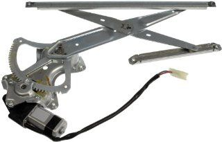 Dorman 748 939 Toyota Yaris Front Passenger Side Window Regulator with Motor Automotive
