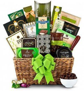 Green Elegance Gift Basket   Valentines Day Gift Basket for Men, Valentines Day Gift for Boyfriend, Husband, For Him.