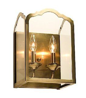 Artcraft Lighting AC949AB Cambridge 2 Lite Wall Sconce Light, Antique Bronze