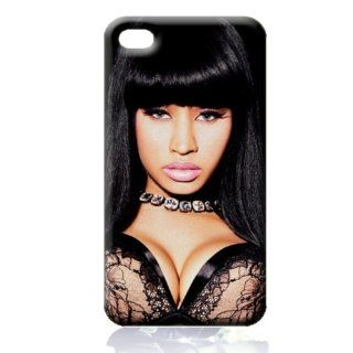 Nicki Minaj Hard Case Skin for Iphone 4 4s Iphone4 At&t Sprint Verizon Retail Packing.