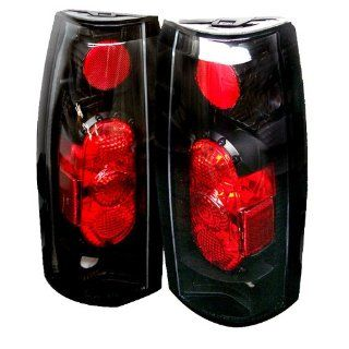 Spyder Auto Chevy C/K Series 1500/2500/3500, Chevy Tahoe/GMC Yukon/Chevy Blazer G2 Version Black Altezza Tail Light Automotive