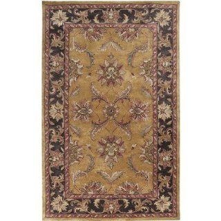 Surya Ancient Treasures 18 Inch Corner Sample Semi Worsted New Zealand Wool Hand Tufted Area Rug