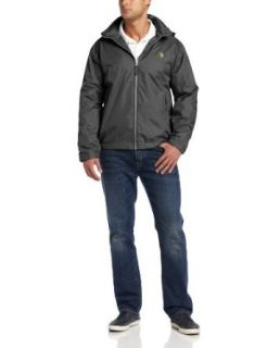 U.S. Polo Assn. Men's Solid Windbreaker with Polar Fleece Lining at  Men�s Clothing store