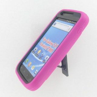 Samsung T989 (Galaxy S II) Hot Pink Robotic Case Cell Phones & Accessories