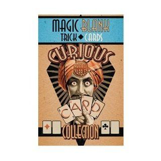 Curious Playing Cards   Magic Blank Trick Playing Cards Toys & Games