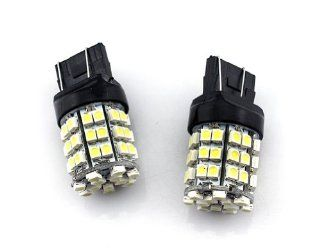 2 pcs Car/Truck/Vehicle T20 7443 White 54 SMD 3528 LED Tail brake stop LED head Light Bulb   Compatible Bulb Model(for reference only)7740, T20, 990, 991, 992,992A, 7440A,7440LL,7440NA,7441,7443, 7443R,7444,7444A Automotive