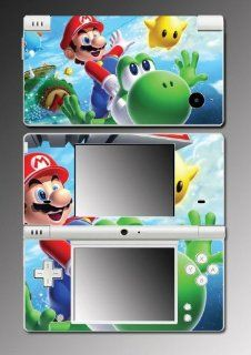 New Super Mario Bros Yoshi Video Game Mod Vinyl Decal Skin Protector Cover #10 for Nintendo DSi Video Games