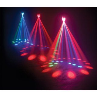 American Dj Supply Jelly Jewel Led Color Changing RGB Led Moonflower Sound Active Musical Instruments