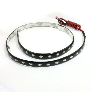 Car Red Green Blue 1210 SMD 44 LED Waterproof Flexible Strip Light Lamp 60cm Automotive