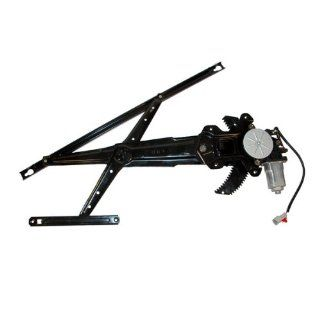 1996 2000 Honda Civic Coupe 2 Door Power Window Regulator with Motor Right Passenger Side (1996 96 1997 97 1998 98 1999 99 2000 00) Automotive