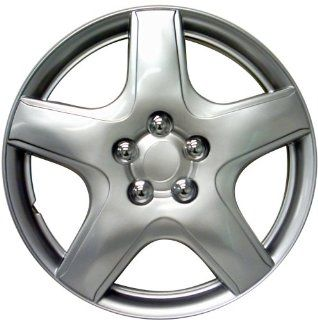"Drive Accessories KT 987 15S/L, Toyota Matrix, 15"" Silver Lacquer Replica Wheel Cover, (Set of 4) Automotive"