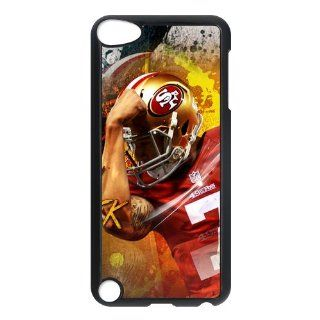 NFL San Francisco 49ers Colin Kaepernick Ipod Touch 5th Case Cover Slim fit Hard Cover Case for Apple New Ipod Touch 5th 2013 Version   Players & Accessories