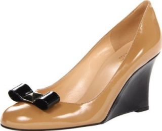 kate spade new york Women's Mania Dress Pump,New Camel Patent,6 M US Shoes