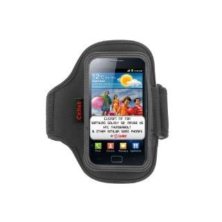 Cellet Neo Armband (10 inches long) for Apple iPhone 5, Samsung Galaxy S2 SGH T989 (T Mobile version), Galaxy S3/SGH i77 (AT&T), Infuse 4G, HTC EVO 4G, Thunderbolt, Motorla Droid Bionic & Similar Sized Phones   Black Cell Phones & Accessories
