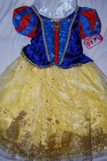 Princess Snow White Costume Dress Gown Size XXS 2 3