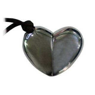 Black Heart Shaped 2GB Necklace USB Flash Memory Pen Drive Electronics