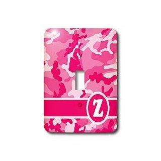 lsp_165848_1 Janna Salak Designs Monogram Collection   Cute Pink Camo Camouflage Letter Z   Light Switch Covers   single toggle switch
