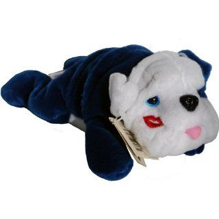 Smooch Pooch Blue Bull Dog    Paw Pals Beany Plush Toys & Games