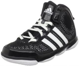 adidas Men's Adipure Basketball Shoe,Black/Running White/Running White,20 D US Shoes