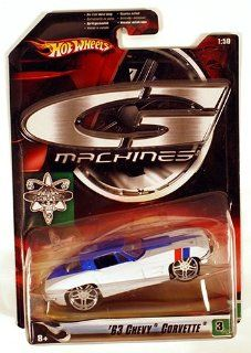 Hot Wheels G Machines '63 Chevy Corvette 150 Scale Die Cast Car Toys & Games