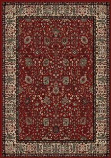"Oriental Classics Vase Red Rug Rug Size 5'3"" x 7'7""   Area Rugs"