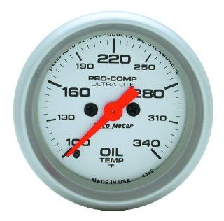 Auto Meter 4356 Ultra Lite Electric Oil Temperature Gauge Automotive