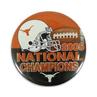 "Texas Longhorns Official NCAA 2""X3"" Rectangular Button  Sports Related Pins  Sports & Outdoors"
