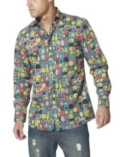 Joe Browns Funky Fun Shirt Multi XX Large at  Men�s Clothing store