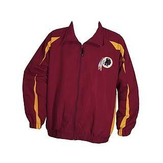 Washington Redskins Big and Tall Full Zip Microfiber Lightweight Jacket (2X Big)  Sports Fan Outerwear Jackets  Sports & Outdoors