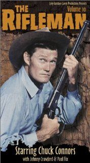 The Rifleman   Volume 10 [VHS] Chuck Connors, Johnny Crawford, Paul Fix, Archie Butler, Joe Benson, Bill Quinn, Patricia Blair, Whitey Hughes, Joe Higgins, Joan Taylor, Harlan Warde, Hope Summers Movies & TV