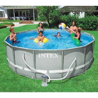 "Intex 12' x 36"" Ultra Frame Aboved Ground Swimming Pool   Round Toys & Games"