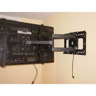 "Unibrak UNB 550 Dual Arm Articulating Cantilever LCD Plasma LED LFD TV Wall Mount Extends 33 inches 42"" 50"" 58"" 65"" 70"" Extra Heavy Duty Sony LG Panasonic Samsung Sharp Electronics"