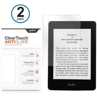 BoxWave  Kindle Paperwhite ClearTouch Anti Glare Screen Protector (2 Pack)   Matte Anti Fingerprint Screen Guard Cover for the Kindle Paperwhite, Also Fits Kindle Touch, Kindle Keyboard, Kindle 4 / 4th Gen, Kindle 3 / 3rd Gen, Kindle 2 Electronics