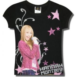 "Hannah Montana ""Among the Stars "" Short Sleeve T shirt for girls   7/8 Clothing"