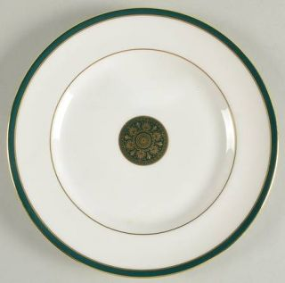 Royal Doulton Oxford Green (England) Accent Salad Plate, Fine China Dinnerware