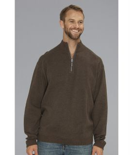 Tommy Bahama Big & Tall Big Tall Flip Side Pro Half Zip Mens Clothing (Taupe)