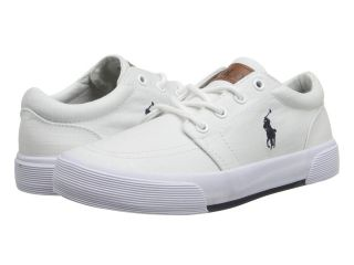 Polo Ralph Lauren Kids Faxon II Boys Shoes (White)