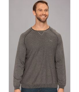 Tommy Bahama Big & Tall Big Tall Barbados Crew Sweater Mens Sweater (Gray)