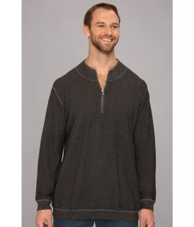 Tommy Bahama Big & Tall Big Tall Seaside Avenue Half Zip Sweater Mens Sweater (Gray)