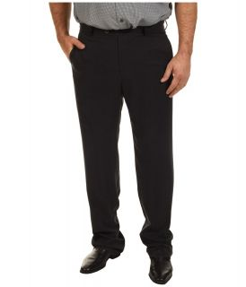 Tommy Bahama Big & Tall Big Tall Flying Fishbone Flat Front Pant Mens Casual Pants (Black)