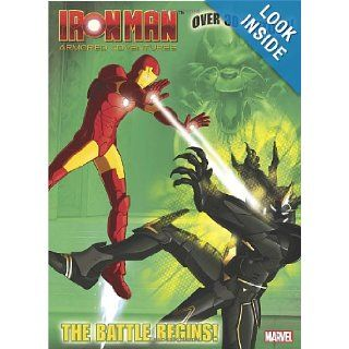 The Battle Begins (Marvel Iron Man) (Color Plus Tattoos) Frank Berrios, Patrick Spaziante 9780375859533 Books